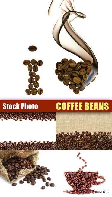 Stock Photo - Cofee beans