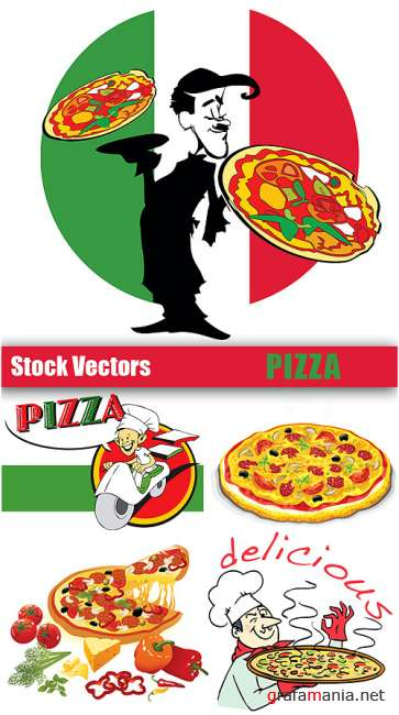 Stock Vectors - Pizza