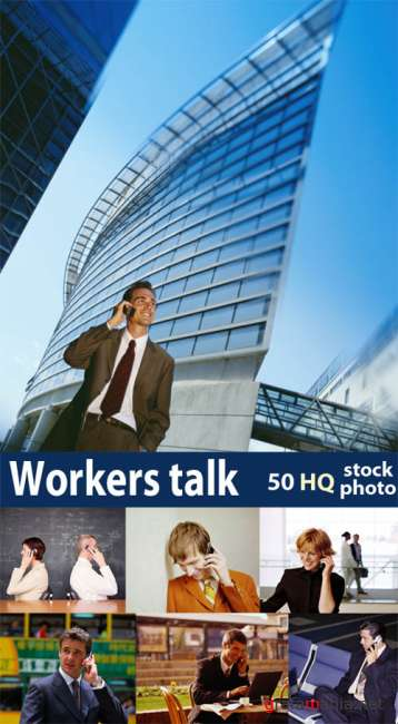 Workers talk