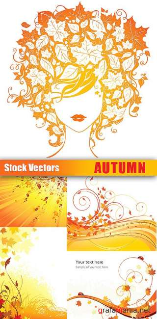 Stock Vectors - Autumn