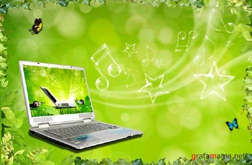 Music from Notebook PSD