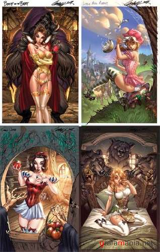 Fairy Tale Pin-up by J.Scott Campbell
