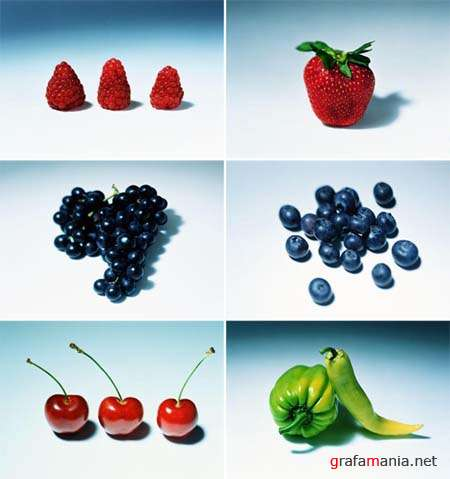 Fresh Fruits and Vegetables - HQ Stock Photos