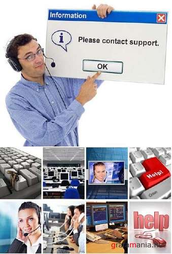 Tech Support - HQ Stock Photos