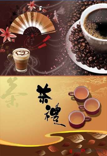 Coffee and Tea - Psd Templates