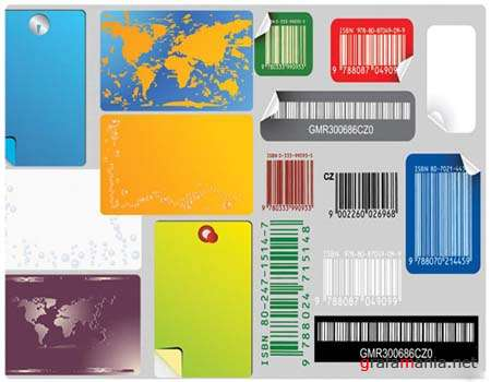 Stickers and Barcodes Vectors