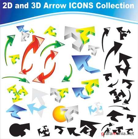 Vector Arrows Icons Collection