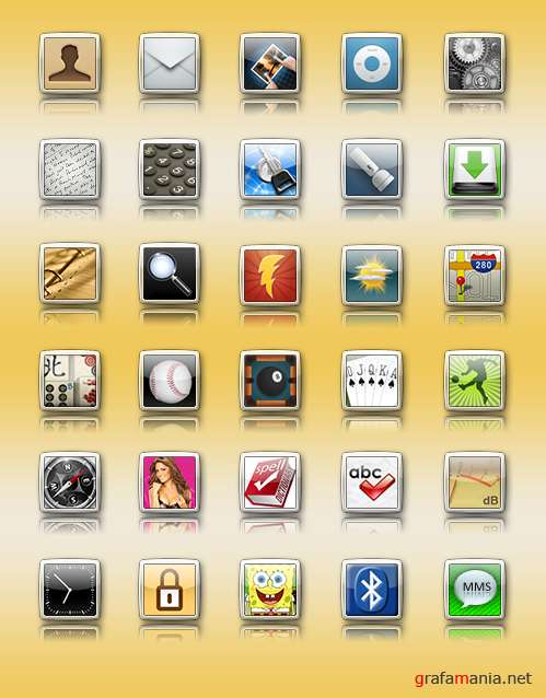 Icons iphone iElegance