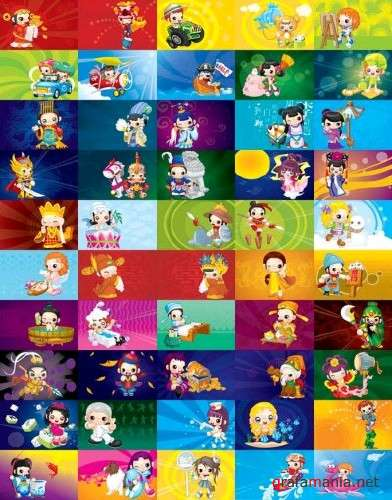 Cute Cartoon Characters