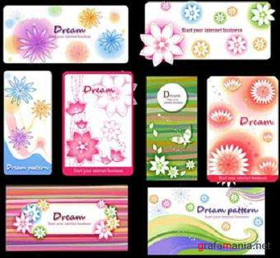 Dream Pattern Vector