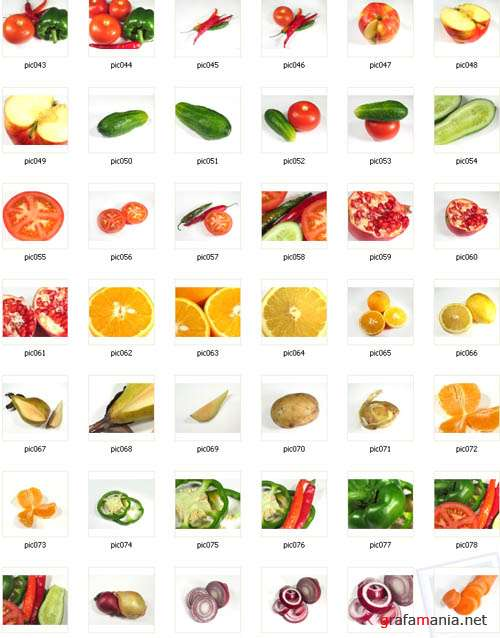 Fruit & vegetables - stock photos | Фрукты и овощи