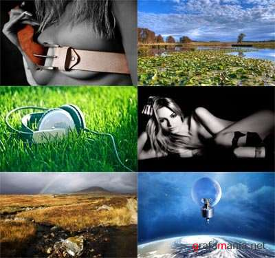 Wallpapers in different genres Pack 109