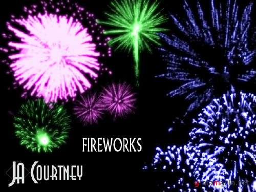 Fire works brushes by Jacourtney