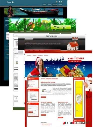 Free Templates for CMS Joomla 1.5 (Pack 11)