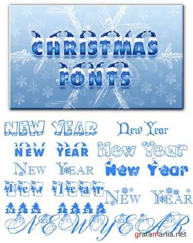 Christmas Fonts Collection