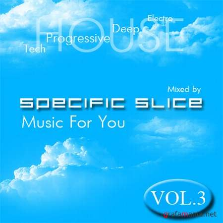 Music For You Vol.3 (Mixed by Specific Slice) (2009)