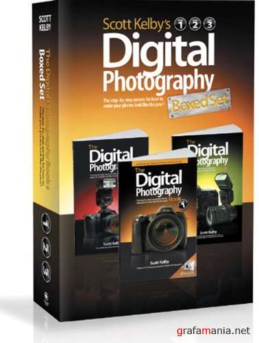 Digital Photography Boxed Set, Volumes 1, 2, and 3