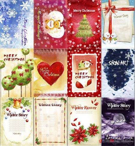 Christmas PSD Templates Collection
