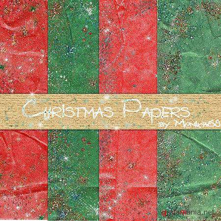 Christmas Papers - HQ Stock Backgrounds