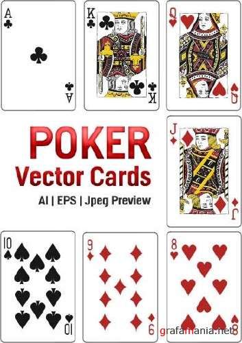 Poker Vector Cards