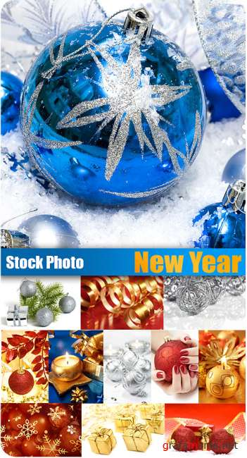 Stock Photo - New Year