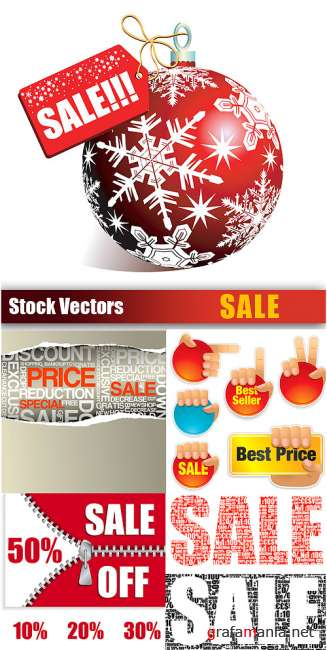 Stock Vectors - Sale