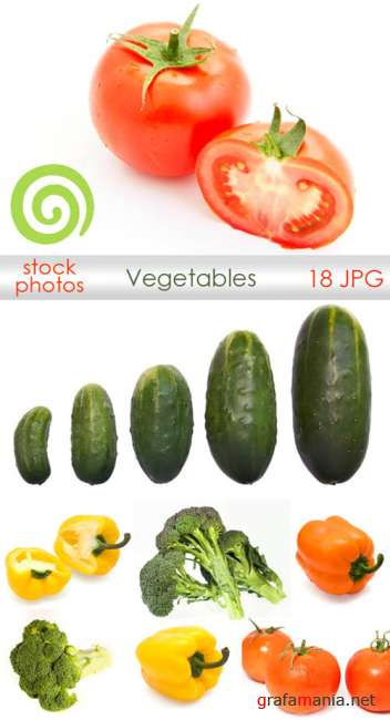 Vegetables - stock photo | Овощи