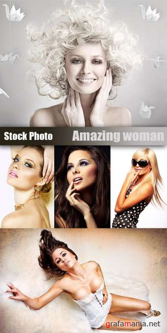 Stock Photo - Amazing woman