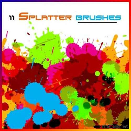 Splatters Brushes Pack