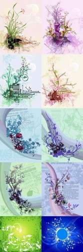 Floral Tender Backgrounds