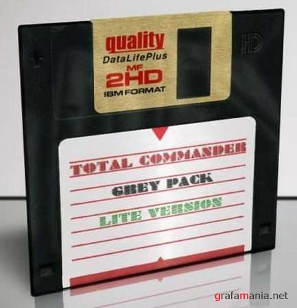 Total Commander 7.50a Grey Pack (Lite Version) [05.12.2009] v1.2