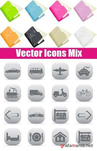Vector Icons Mix