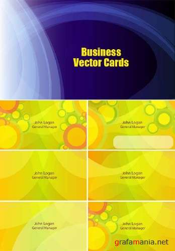 Business Vector Cards Templates
