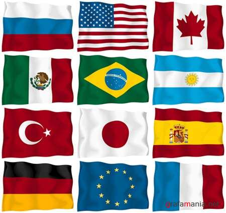 World Flags Vector Clipart