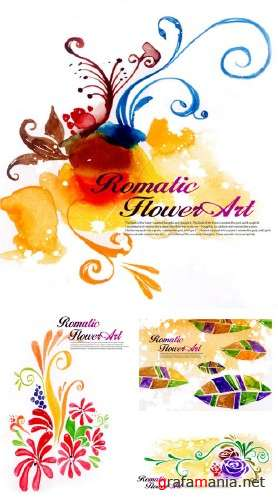 Romatic Flowers Art 2