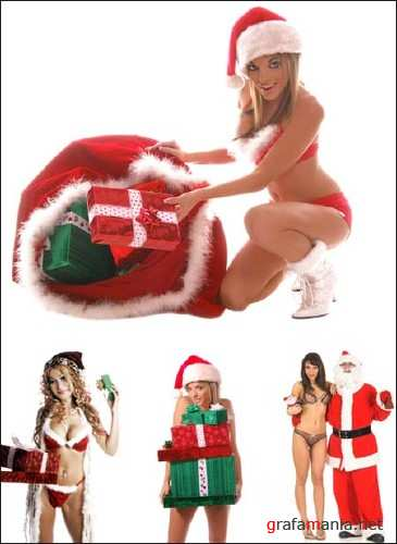 Sexy Santas 2 - HQ Stock Photos