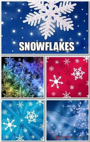 Snowflakes Backgrounds - HQ Stock Images
