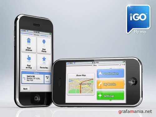 iGo My Way 2009 Europe Edition v1.1 for iPhone