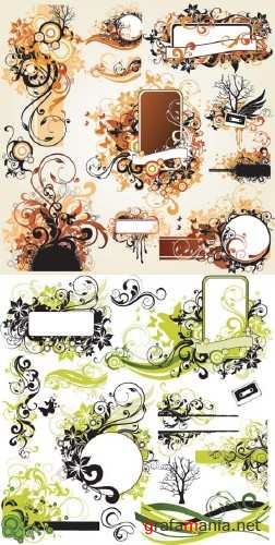Swirls Vector Mix