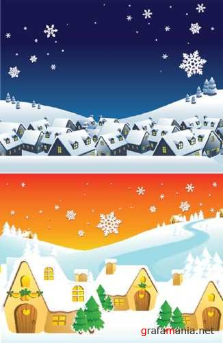 Christmas Vector Backgrounds 4