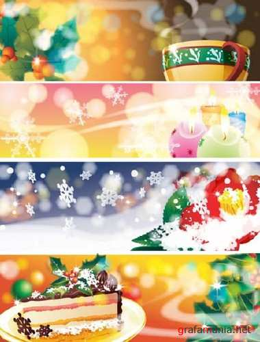 Christmas Vector Banners 3