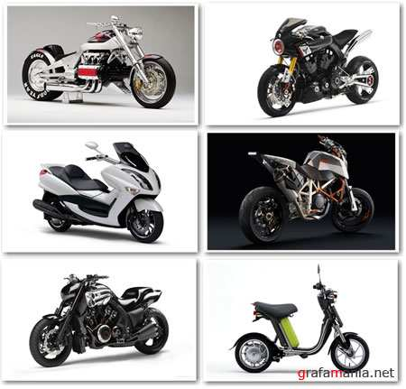 Concept Motorcycles Wallpapers Set 2