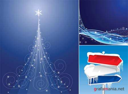 Christmas Vector Backgrounds 6