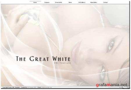 Great White - Flash Site Template