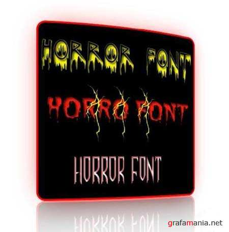 Horror Fonts Collection