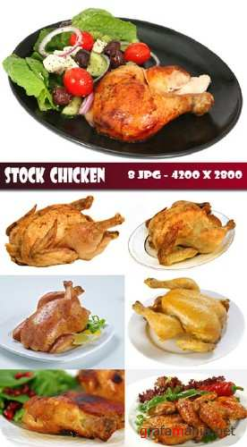 Stock roast chicken
