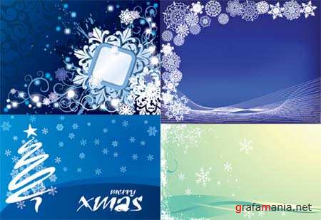 Christmas Vector Backgrounds 7