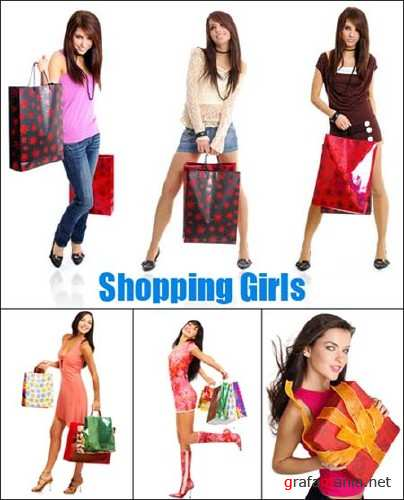 Shopping Girls - HQ Stock Photos