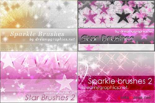 Sparkle and star brushes