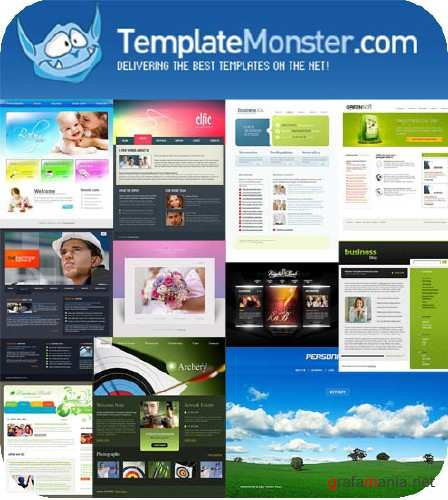 Template Monster Flash Templates Pack #3